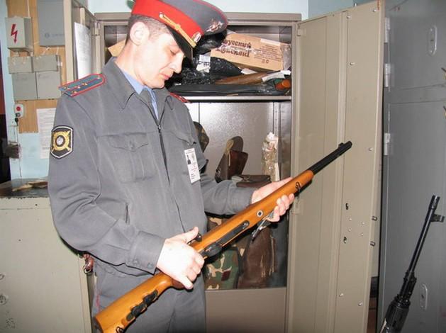 Надзор за охотничьим оружием