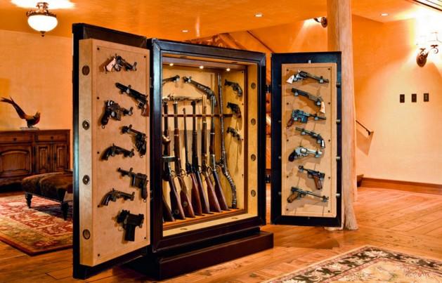 Сейф для хранения охотничьего оружия