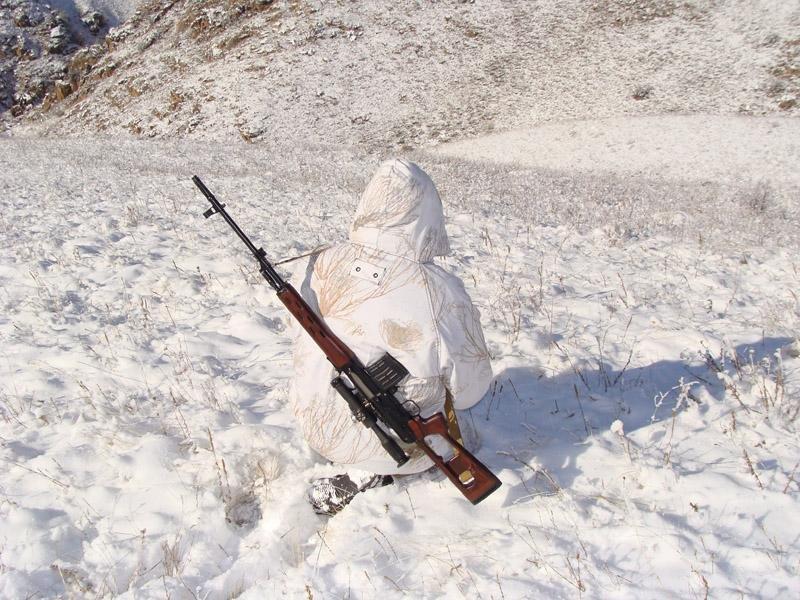 Одежда и оружие для охоты на лося