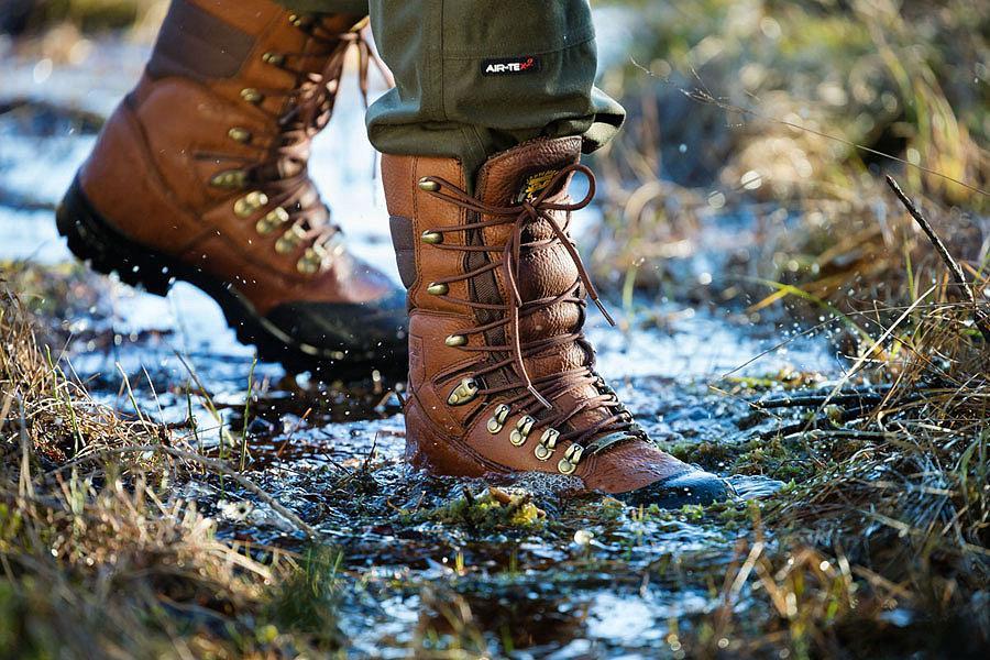 Обувь для охоты зимой и осенью
