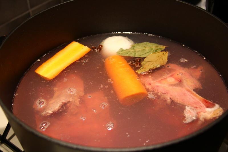 Суп из лосятины