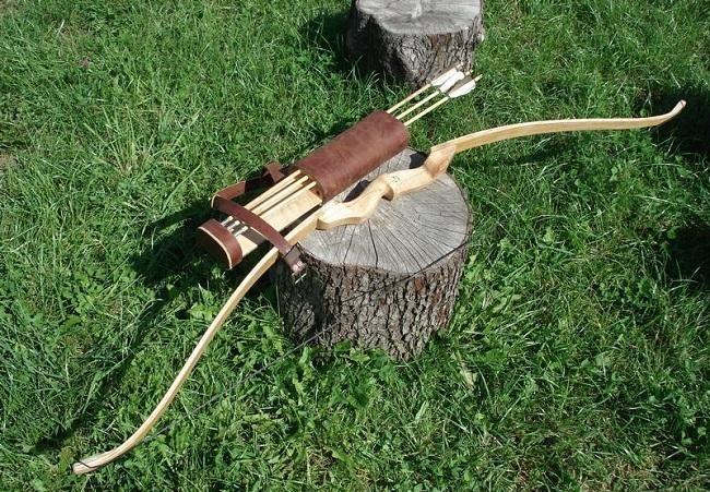 Самодельный охотничий лук