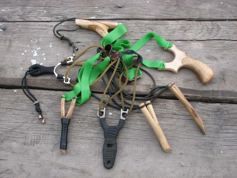 Рогатка для охоты, как выбрать и