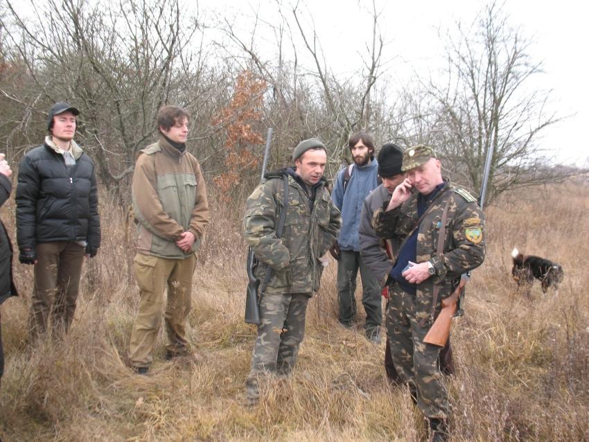 Задержка группы браконьеров
