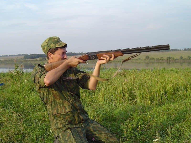 Хват охотничьего ружья