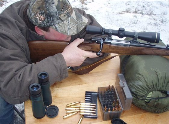 "Стрельба с карабина ""Барс"""