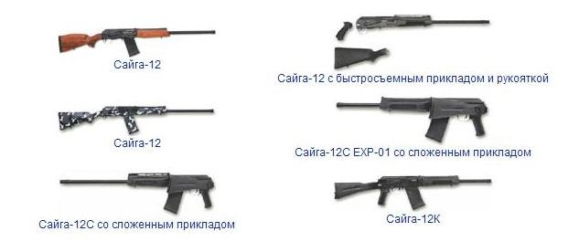 Модификации оружия