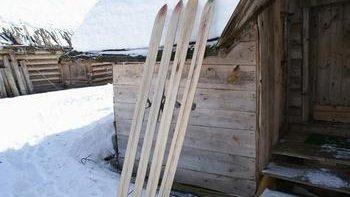 Охотничьи лыжи своими руками