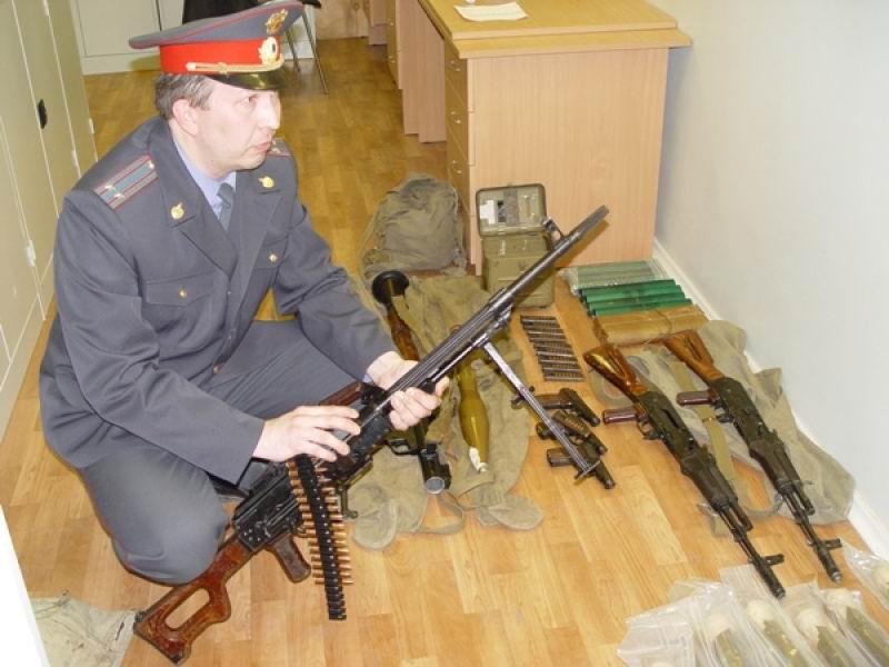 Изъятие оружия сотрудниками ЛРО