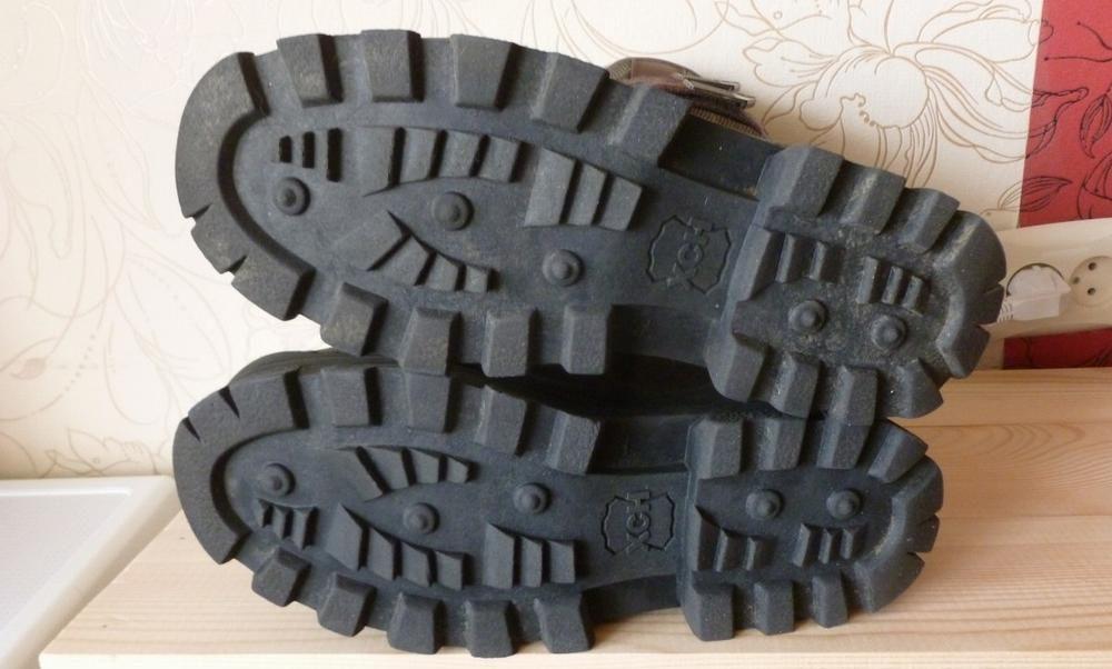 Подошва охотничьих ботинок