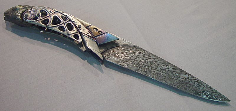 Нож из булата
