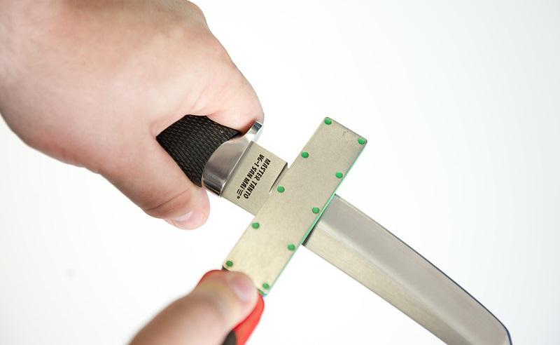 Заточка охотничьего ножа