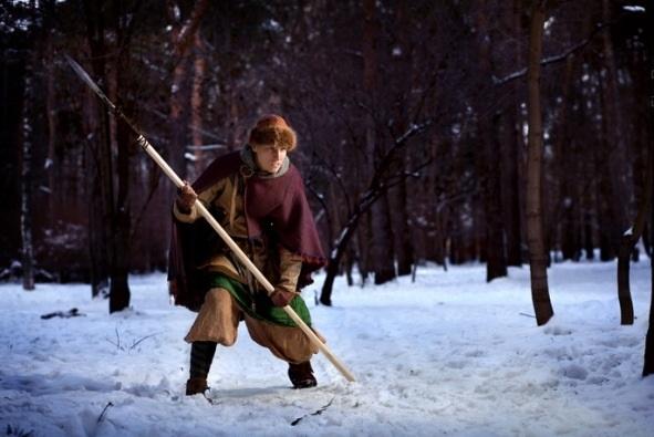 Охотник с рогатиной