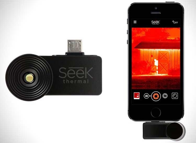 Тепловизор Seek Thermal + смартфон