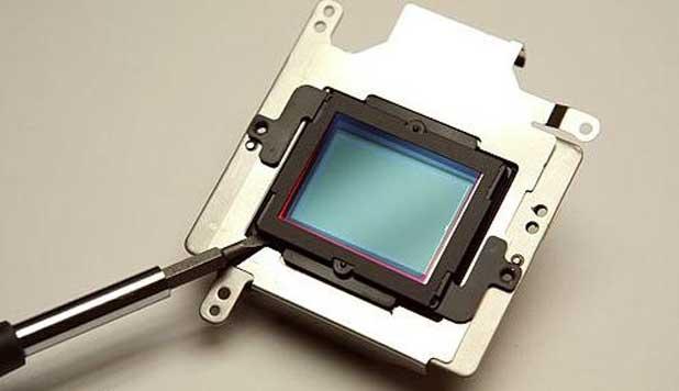 Демонтаж ИК фильтра из цифровой камеры