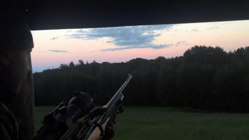 Охотник на вышке