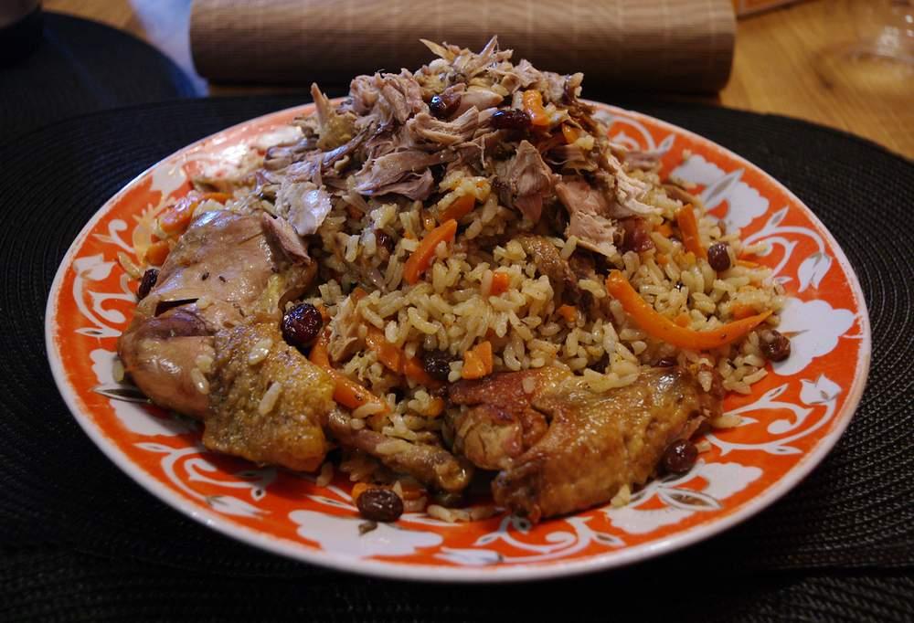 Вкусный плов из фазана