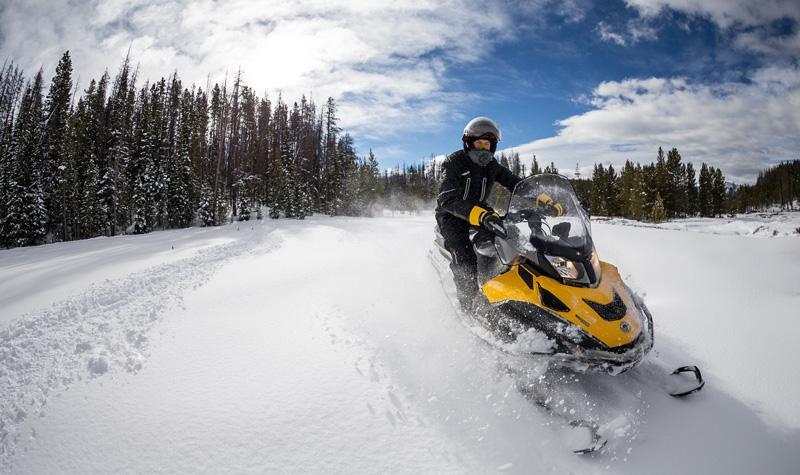 Передвижение по рыхлому снегу