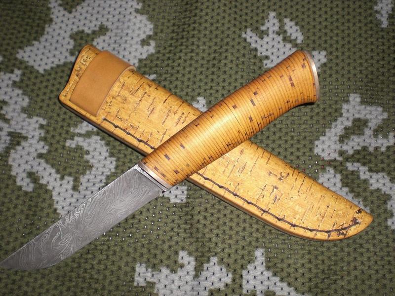 Ножны из бересты