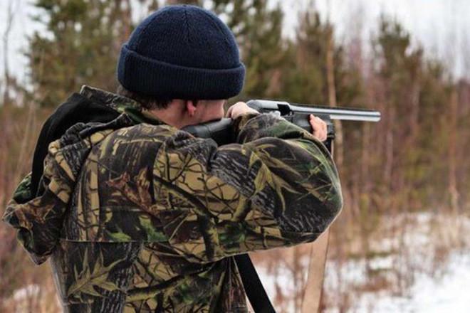 Стрелок на загонной охоте
