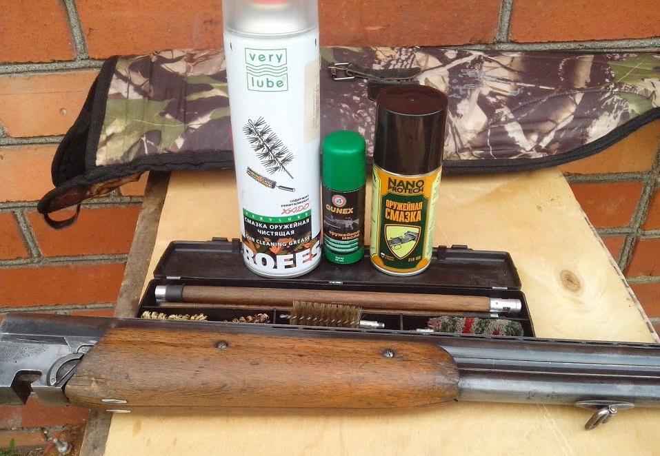 Набор для смазки ружья