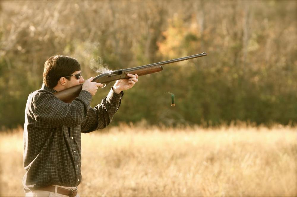 Стрельба из ружья 16 калибра