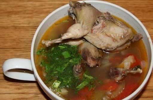 Суп из дикого голубя