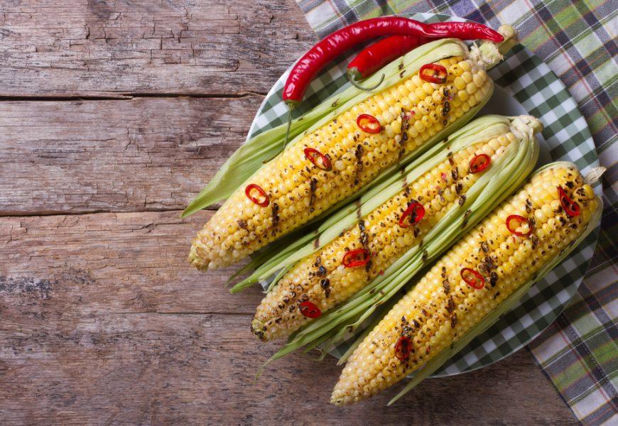 Острая кукуруза с перцем чили
